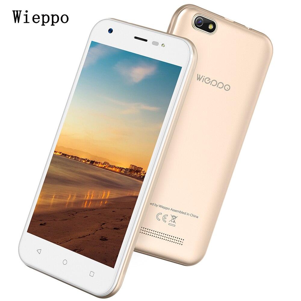 S5 5.0 pulgadas Smartphone Android 7.0 MT6580 Quad Core teléfono móvil 1 GB RAM 8 GB ROM 2400 mAh 3G WCDMA desbloqueado Smartphone