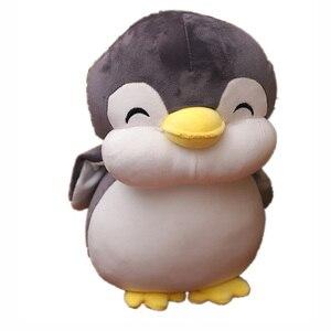 Image 5 - 22 cm חיוך פינגווין בפלאש צעצועי חיות חמודה בובת רך כותנה בפלאש צעצועי ילדים יום הולדת מתנה לחג המולד