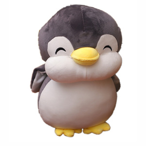 Image 5 - 22cm Smile Penguin Plush Toys Cute Animals Doll Soft Cotton Plush Toys Kids  Birthday Christmas Gift
