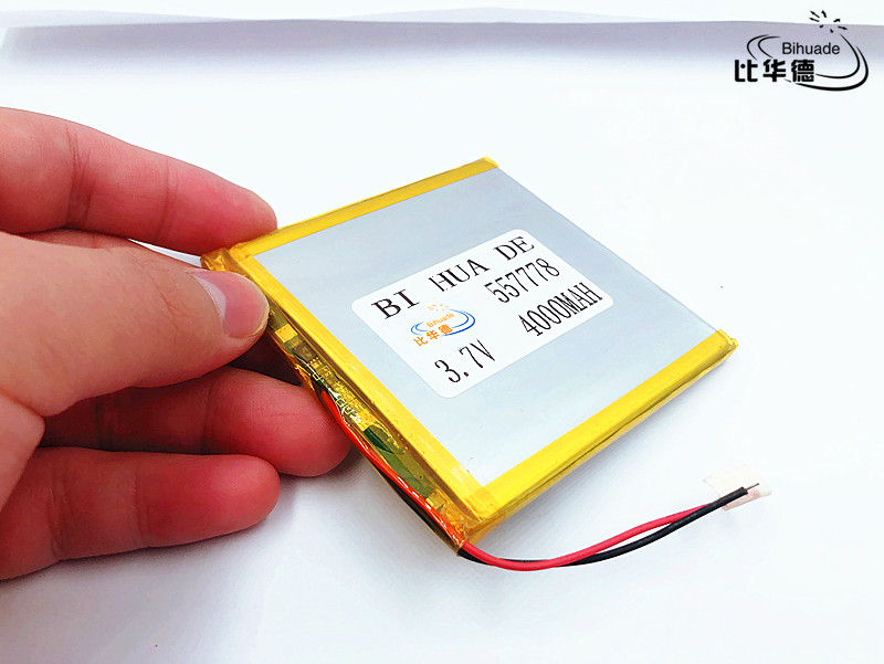 Polymer Lithium Ion Li-po 5pcs 3.7v 557778,4000mah Li-ion Battery For Toy,power Bank,gps,mp3,mp4,cell Phone,speaker Carefully Selected Materials