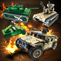 Power function Intelligent building blocks assembled remote control car tank building blocks with lepin decool