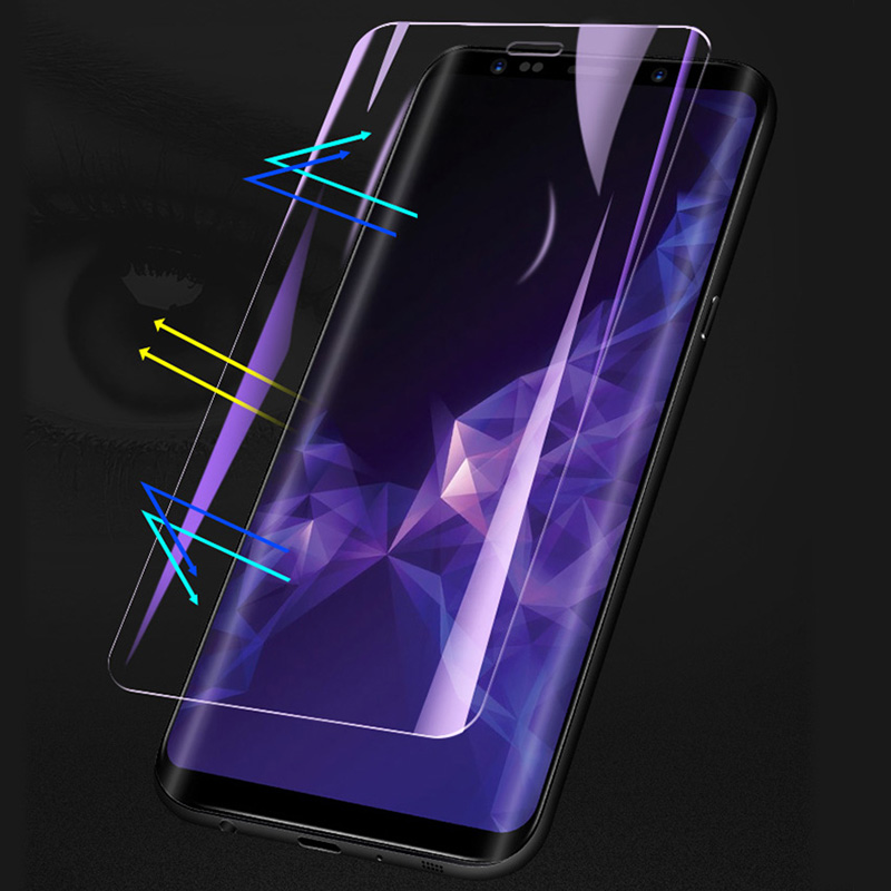 Protective Film For Samsung Galaxy Note8 S7 Edge Soft Full Curved Screen For Samsung NOTE9 S9 S8 Plus s6 Not Tempered Glass in Phone Screen Protectors from Cellphones Telecommunications