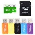 Mais novo 32 GB cartão Micro TF/SD Adaptador de Cartão de Memória Flash + Leitor de Cartão TF