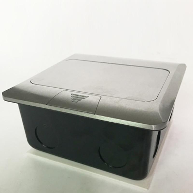 Manufacturer All Aluminum Panel EU Standard Pop Up Floor Socket 2 ...