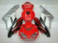 Dor Red black Silver gray fairing For CBR1000RR 2004 2005 Fairing CBR 1000RR 04 05 CBR1000 Bodywork Fei