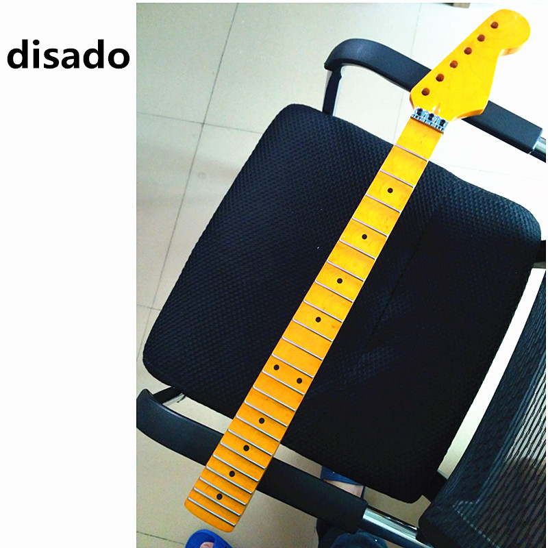 disado 21 22 24 Frets maple Electric Guitar Neck maple scallop fretboard inlay dots glossy paint guitar parts accessories disado 21 22 frets maple electric guitar neck rosewood scallop fretboard inlay dots glossy paint guitar parts accessories