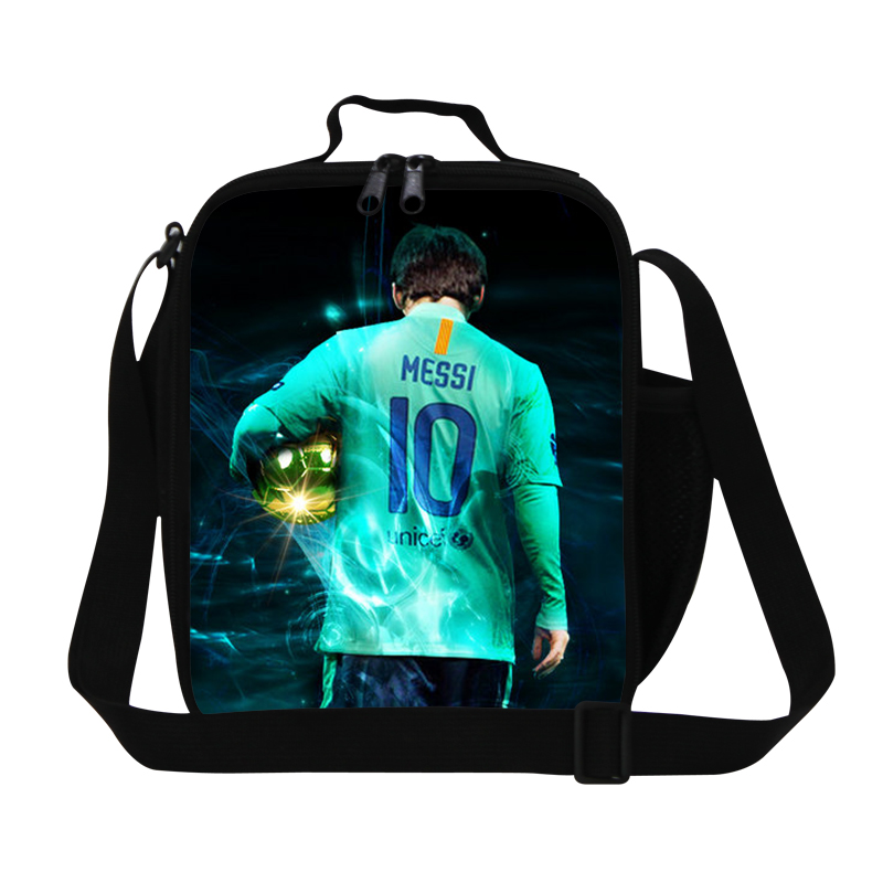 Fashion Waterproof Insulated Children Lunch Bags Messi Mens