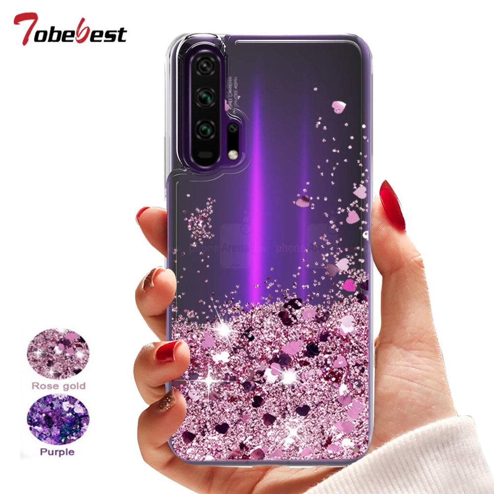 Huawei Honor 20 Pro Case Dynamic Liquid Glitter Quicksand Star For Huawei Honor 20 Soft TPU Slicone Cover