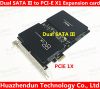 High Speed DEBROGLIE DB 23561 Dual SATA III To PCIe SSD Adapter Card For MAC PRO