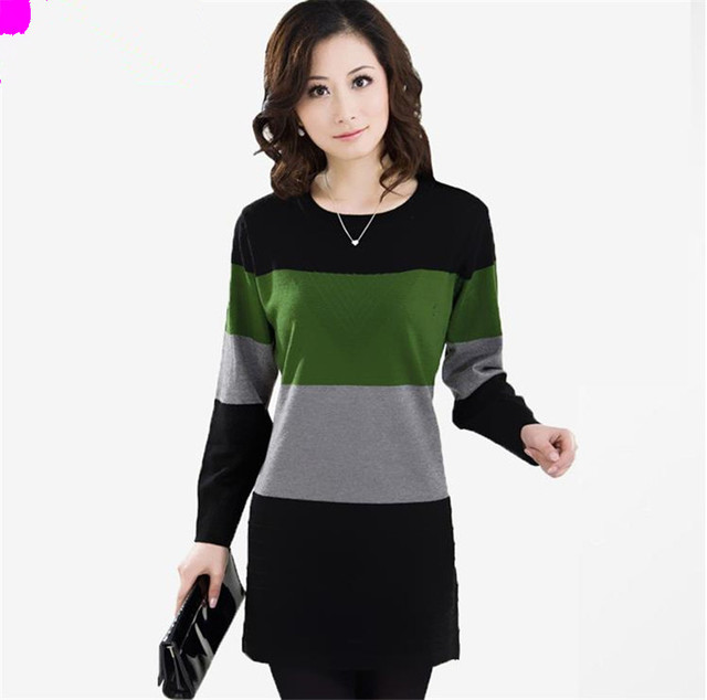 Women's Sweater Autumn Winter O Neck Thick Wool Pullovers Female jumper Hedging Warm knitted Cotton Bat Sleeve Outwear Sweaters