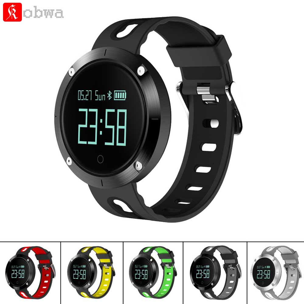 DM58 Smart Band Blood Pressure Heart Rate Monitor Waterproof Smart Wristband Call SMS SNS Remind Activity Tracker Smart Bracelet
