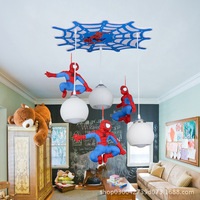 Creative personality home improvement spider cartoon lighting LED kindergarten children's lamp room ceiling lamp bedroom lamps