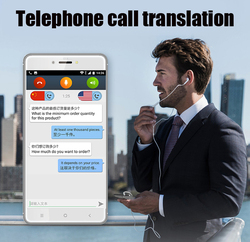 5.99 inch V100 Two-Way AI offline voice translator smart phone Telephone smart translator multilanguage electronic dictionary