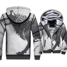 Wolf 3D Printed Clothing Streetwear Hoodies For Men 2018 New Fashion Game Of Thrones Mens Sweatshirt Harajuku Stark House Hoody