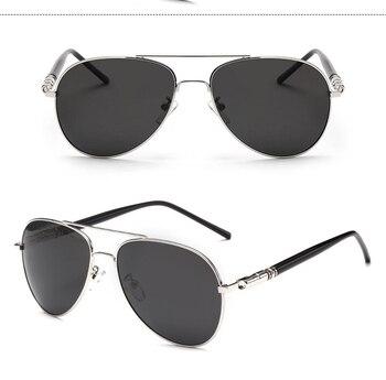 Psacss Classic Pilot Polarized Photochromic Sunglasses 42