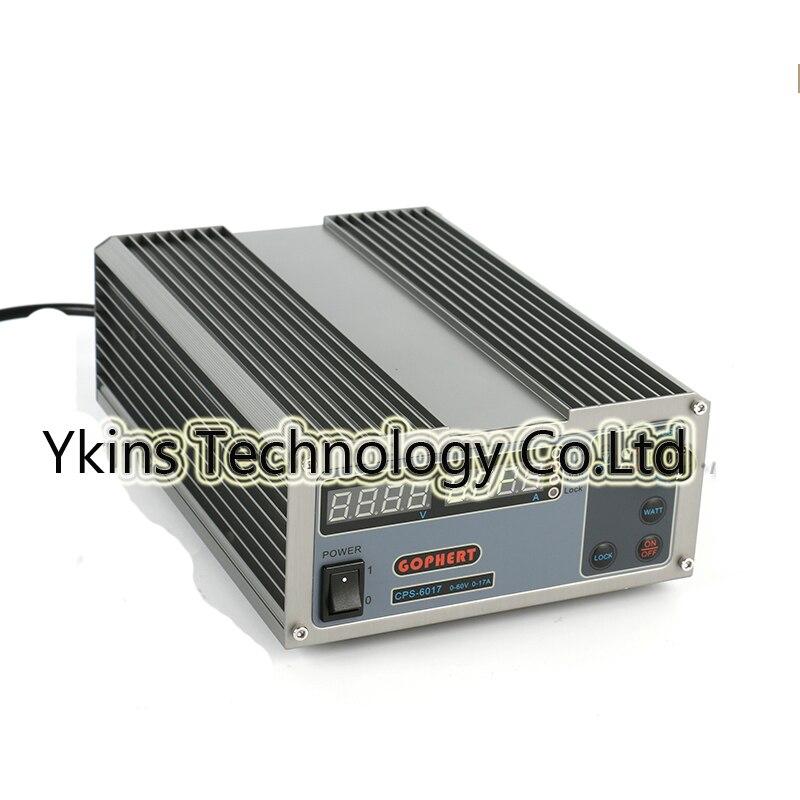 CPS 6017 обновленная версия 1000 Вт 0 60 В/0 17A, высокая Мощность цифровой регулировкой Питание CPS6017 220 В