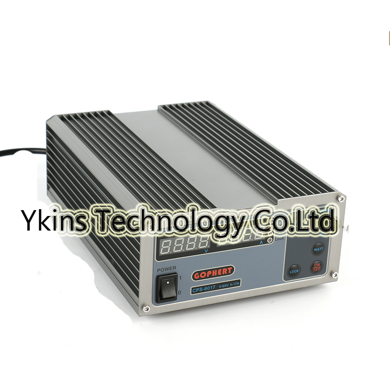 CPS-6017 Updated Version 1000W 0-60V/0-17A,High power Digital Adjustable DC Power Supply CPS6017 220V cps 6011 60v 11a digital adjustable dc power supply laboratory power supply cps6011