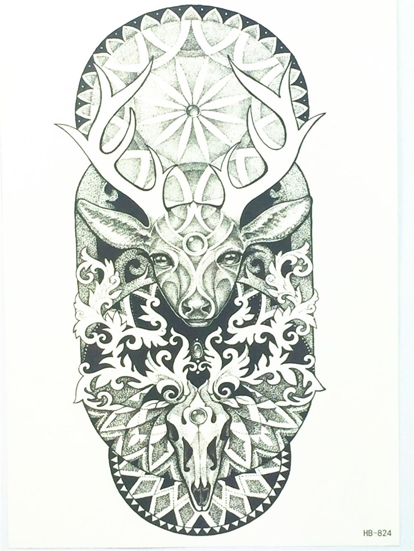 Henna Tattoo To Buy: Aliexpress.com : Buy 2017 NEW Fashion Sexy Deer Flash