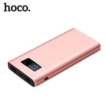 Digital Display Power Bank for Xiaomi Mi, HOCO Portable 10000mah Power Bank Phone External Battery Powerbank 10000 mah
