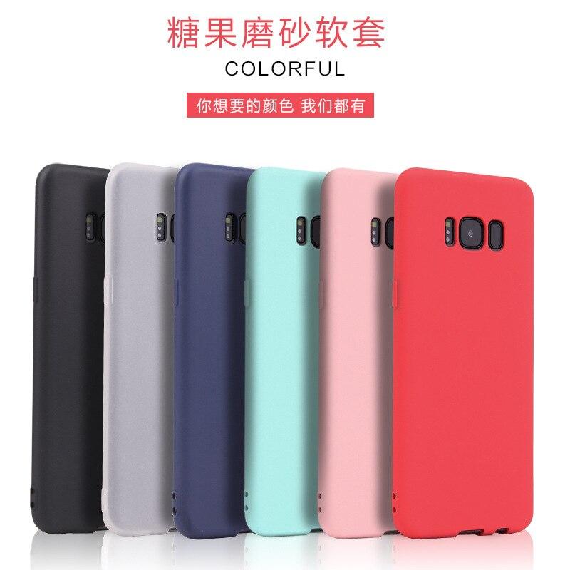 Мягкий силиконовый чехол для Samsung Galaxy S8 s8plus тонкой кожи Защитная крышка для Samsung S8 Plus телефон корпус