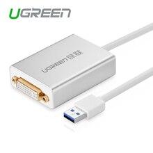 Ugreen usb 3.0 для dvi/hdmi/vga внешний мульт-display adapter high premium 1066 80 см кабель адаптер поддержка 6 mointors