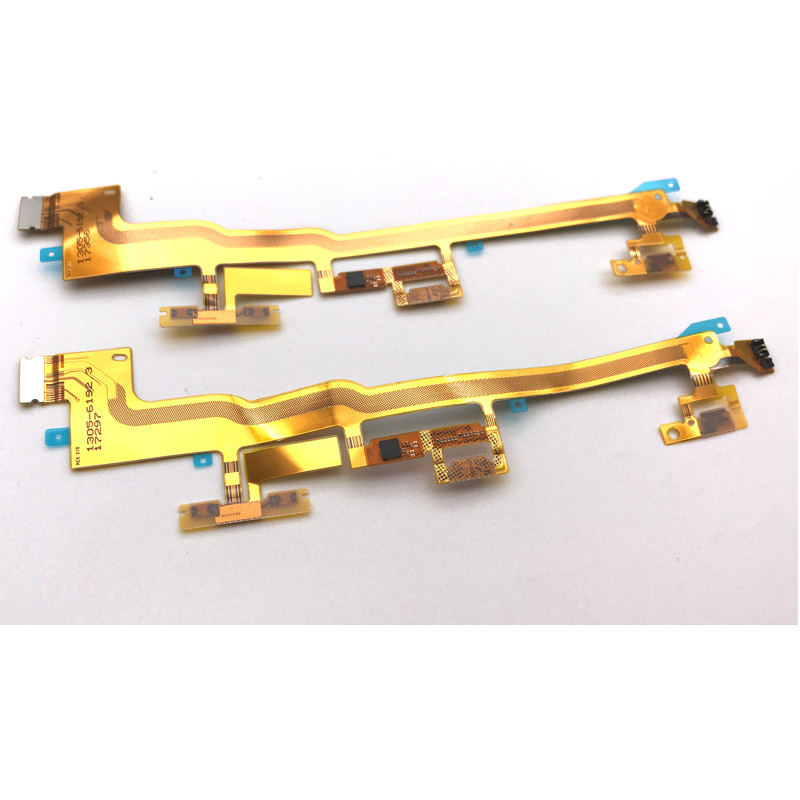 For Sony Xperai XZ Premium XZP G8142 G8141 Power Volume Side Key Button Flex Cable