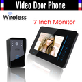 Wireless Video Intercom Door Phone System 7 Inch IR Night Vision Video Doorbell Camera Waterproof 1 Camera 1 Monitors Kits