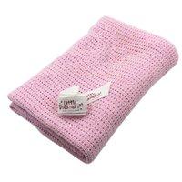 Newest Newborn Baby Blankets Cotton Swaddling Crochet Prop Crib Sleeping Bed Supplies 100cmX75cm