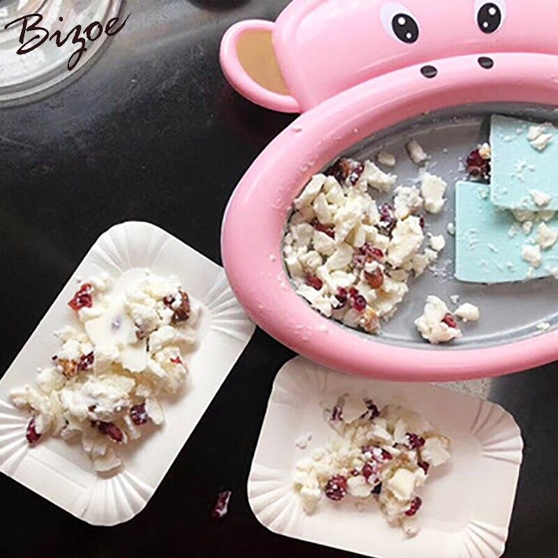 Factory direct sale DIY homemade home macaque frying machine mini fruit juice ice cream frying pan for children