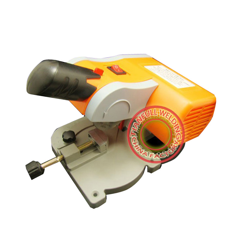 Mini cut-off saw Mini cut off saw/Mini Mitre Saw/Mini chop saw 220v 7800rpm cut ferrous metals non-ferrous metals wood plastic non ferrous alloys