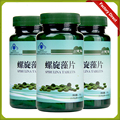3 бутылки/серия natural spirulina таблетки 250 мг спирулина в таблетках