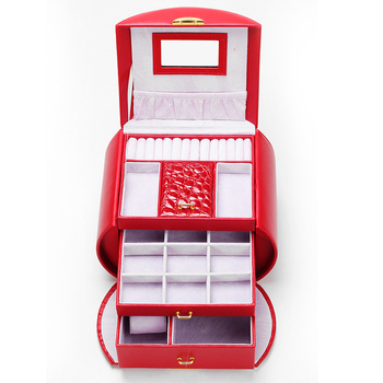 Creative Portable Wedding Gift Jewelry Box