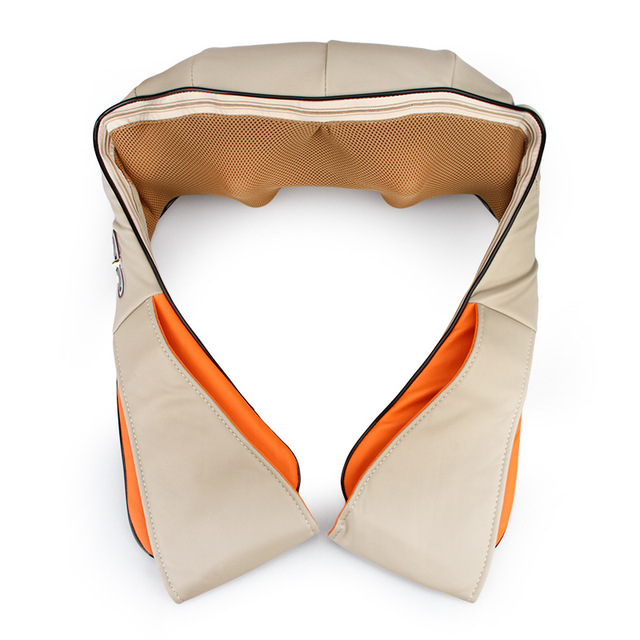 Multifunction Health Care Car Home Dual-Use Cape Massager Kneading Heating Neck Shoulder Massager