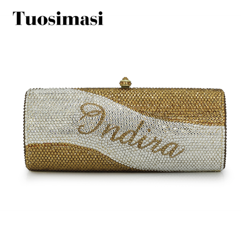 women custom name crystal big diamond clutch women evening clutch bag(1020BG) women custom name crystal big diamond clutch crossbody chain bag women handbags evening clutch bag 1001bg