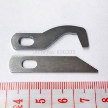 1 set (2 pieces) original quality knives for Brother Household Overlock Sewing Machine 1034D
