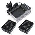 2 (Упаковка) DMW-BLC12, BLC12E, BLC12PP, BLC12 Батареи + Зарядное Устройство для PANASONIC LUMIX FZ1000, FZ200, FZ300, G5, G6, G7, GH2, DMC-GX8