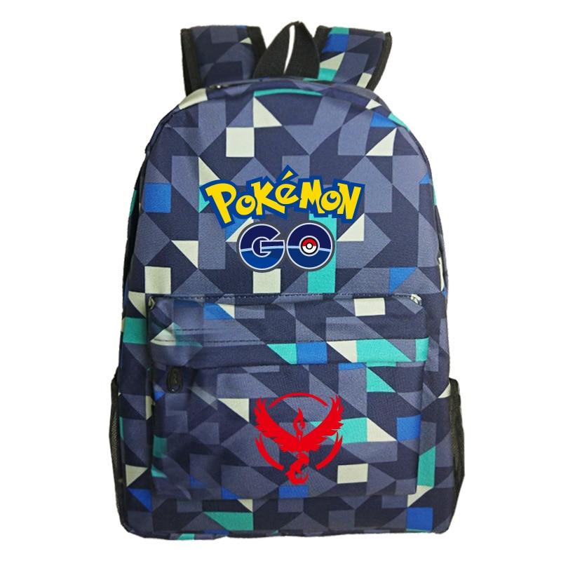 Women Men Pokemon Go Team Valor Galaxy Backpack School Backpack Daily  Backpack Laptop Backpack Teens Pokemon Go School Bag