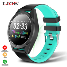 LIGE Health Smart Bracelet Heart Rate Blood Pressure Pedometer Watch Activity Fitness Tracker Waterproof Wristband