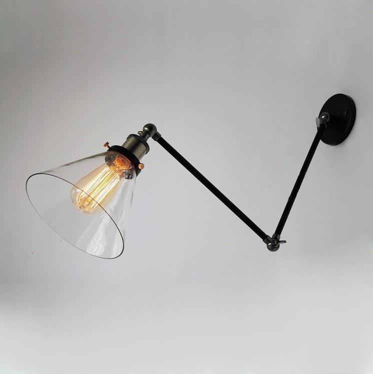 Replica designer Edison industrial vintage wall lamp replica item american style replica riveted mesh rectangular edison industrial lamp free shipping