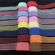 10 jardas/lote 40mm artesanal bilateral, bordados, renda, decoração da fita do laço, artesanato de costura faça você mesmo