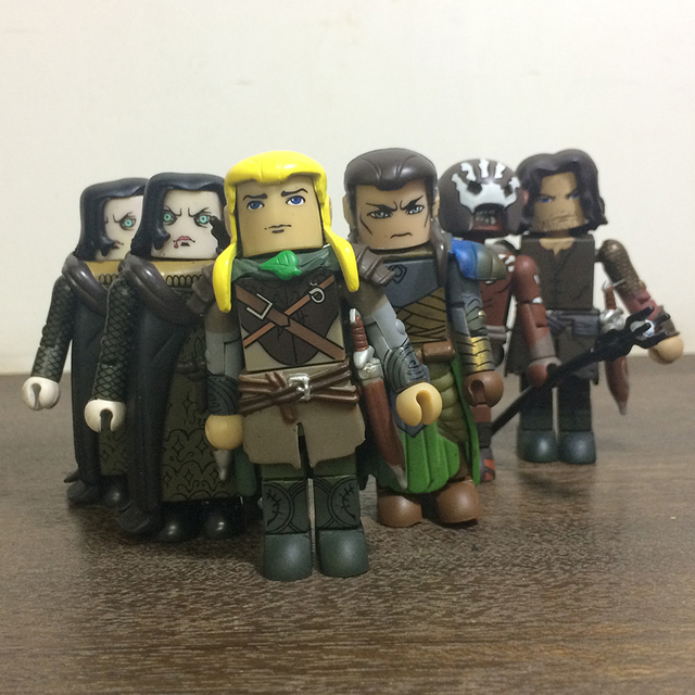 The Lord of the Rings Action Figures Legolas and Gimli
