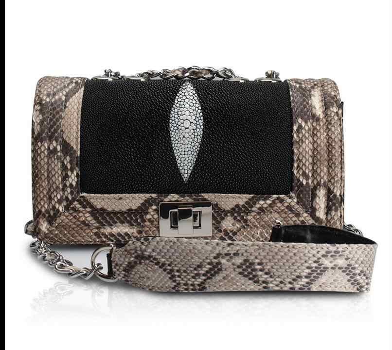 8f7e942d65eb Detail Feedback Questions about Burminsa Vintage Snake Skin Small ...