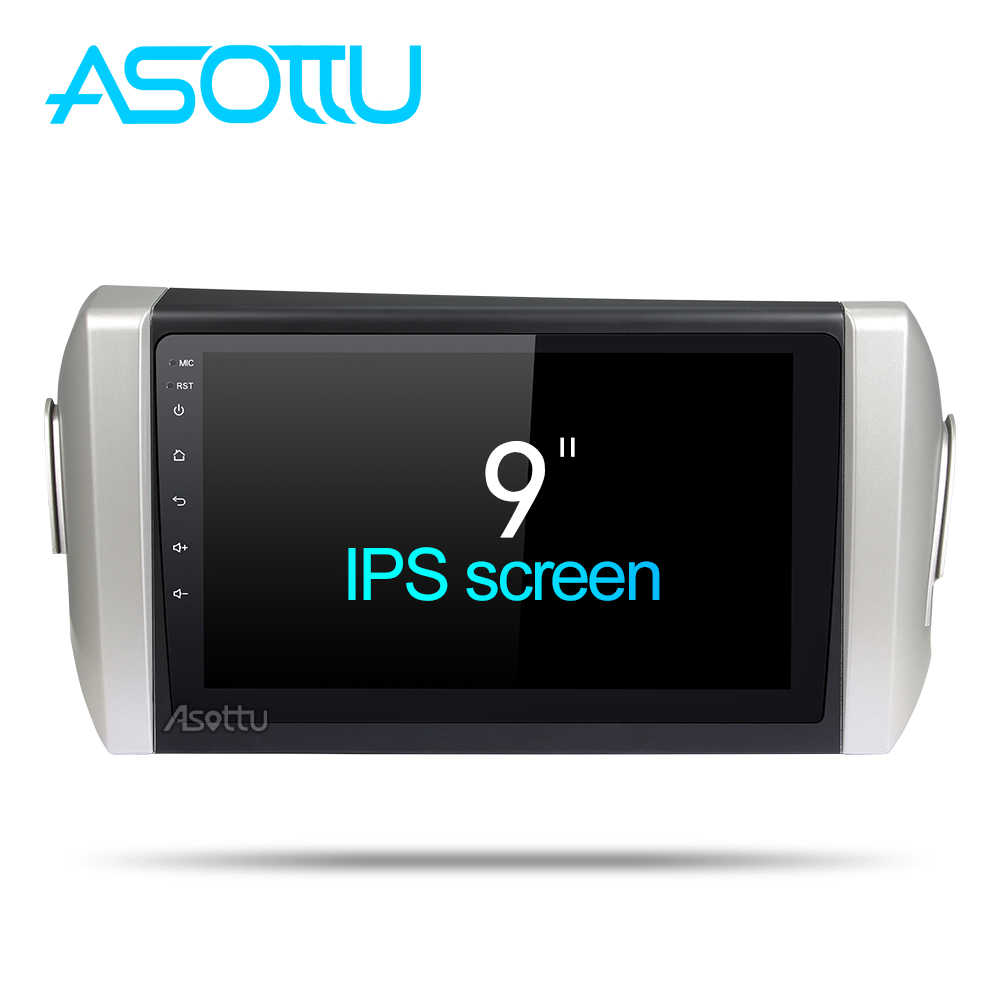 Asottu Android 8.1 Car DVD Player for toyota innova Octa Core Car DVD GPS Navigation palyer car stereo Car DVD Multimedia