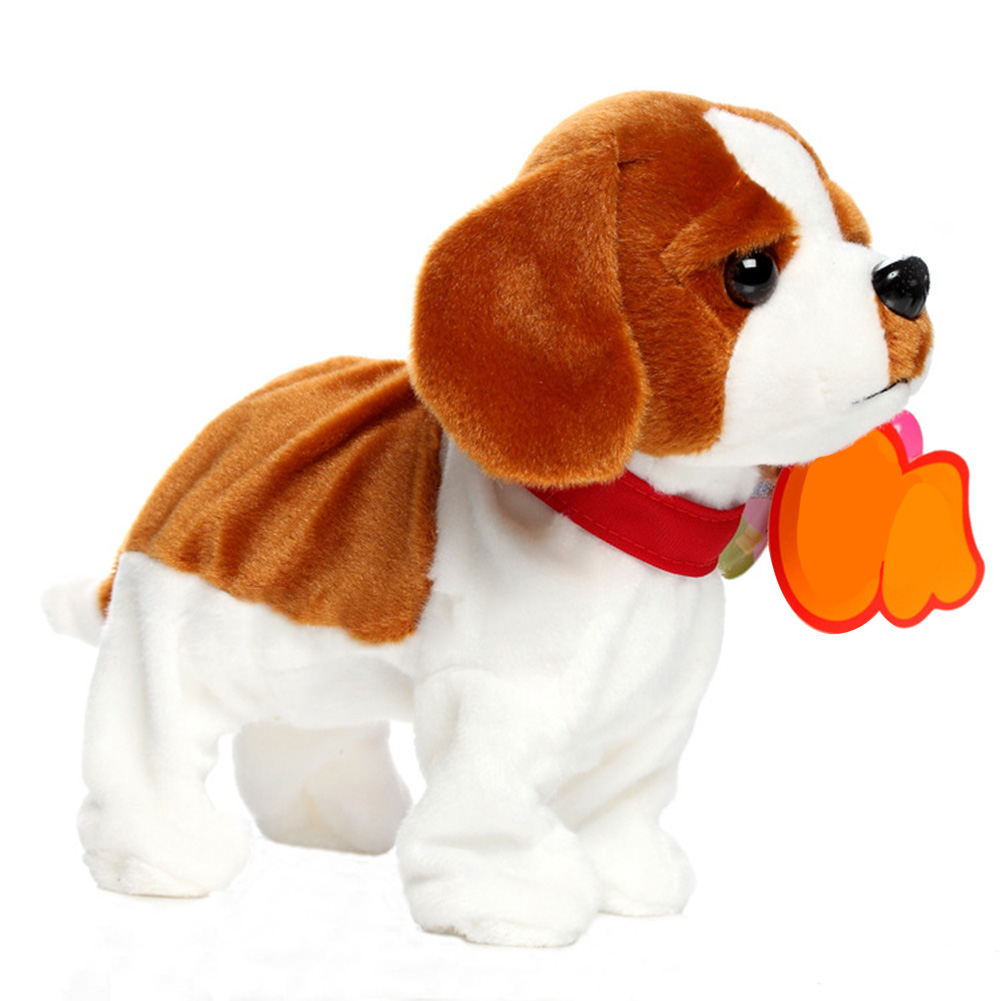 Funny Electric Toy Interactive Stand Intelligent Robot Dog Walk Sound Control Children Bark Cute Pets
