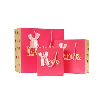100pcs Romantic Wedding Favor Candy Bag LOVE Bow Favor Chocolate Bags Special Gift Packing Wedding Decoration ZA6213