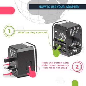 Image 3 - Rdxone Universal Travel Adaptor All in one Power Adapter wall Electric Plugs Sockets for Mobile Phone, Tablet, Camera, Laptop