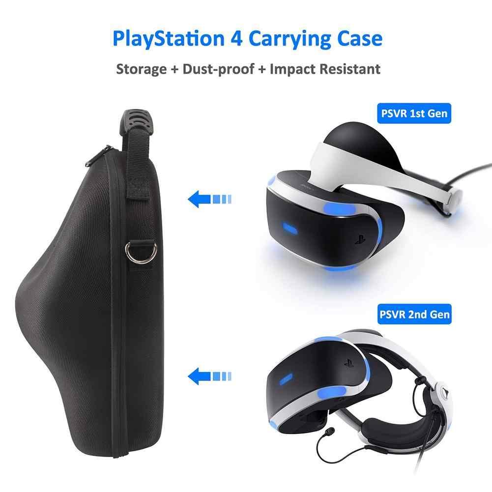 Чехол для хранения для sony VR PS4 PSVR 3D очки большой емкости EVA водонепроницаемая сумка для хранения для playstation VR наружные аксессуары