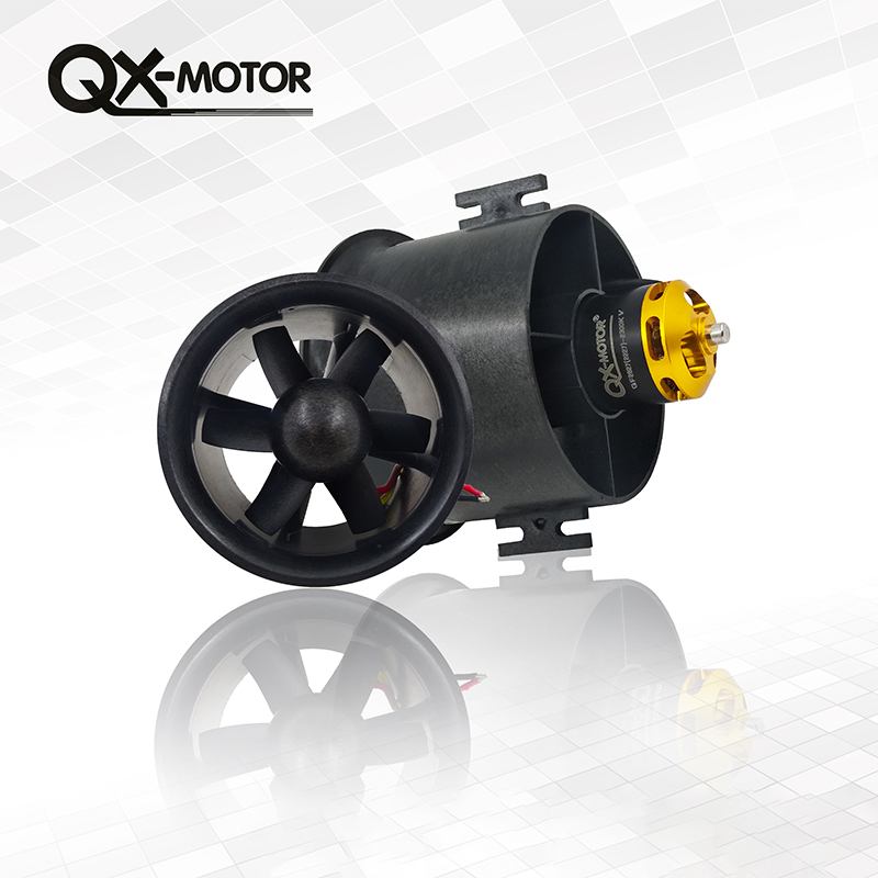 Motor, Blades, Ducted, QX-Motor, Fan, Brushless