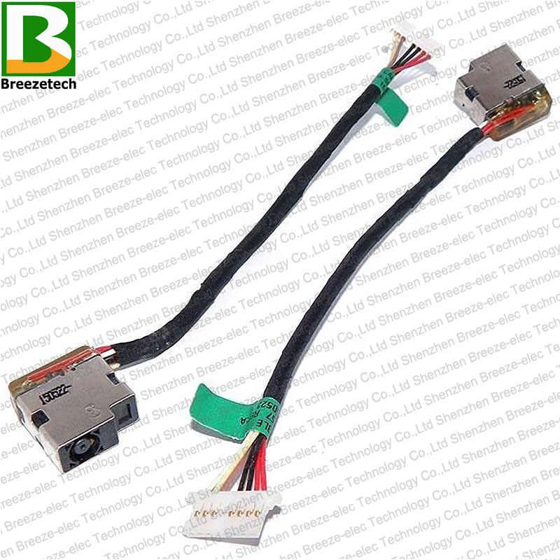 Zahara AC DC Power Jack with Cable Harness Socket Plug Replacement for HP 15-bw072nr 15-bw003cy 15-bw088cl 15-bw-002ds 15-bw098cl 15-bw001ds