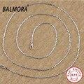 100% real 925 joyería de plata esterlina al por mayor gargantillas collares para las mujeres de los hombres accesorios Regalos de Navidad Envío Libre 60019